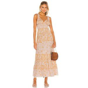 Free People Let's Smock About It Maxi Dress Medium